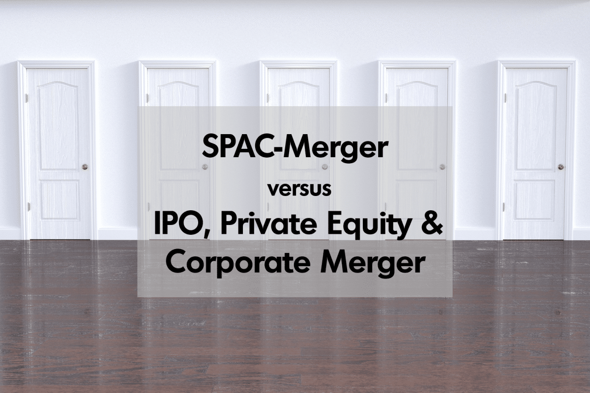 SPAC-Merger vs. Alternativen